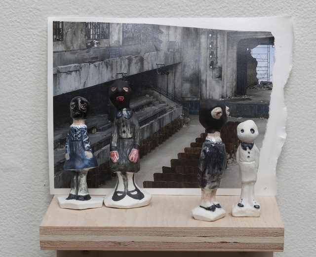 , 'Golems on a Catwalk,' 2014, Conduit Gallery