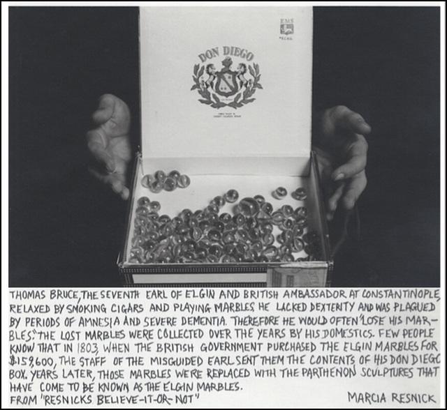 Marcia Resnick, 'Elgin Marbles', 1979 (November 8), Paul M. Hertzmann, Inc.