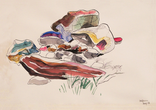 , 'Rock Study,' 1956, Edward Cella Art and Architecture