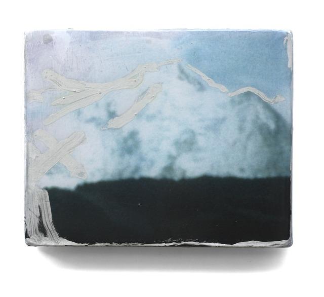 , 'Silver contour,' 2014, Albert Baronian