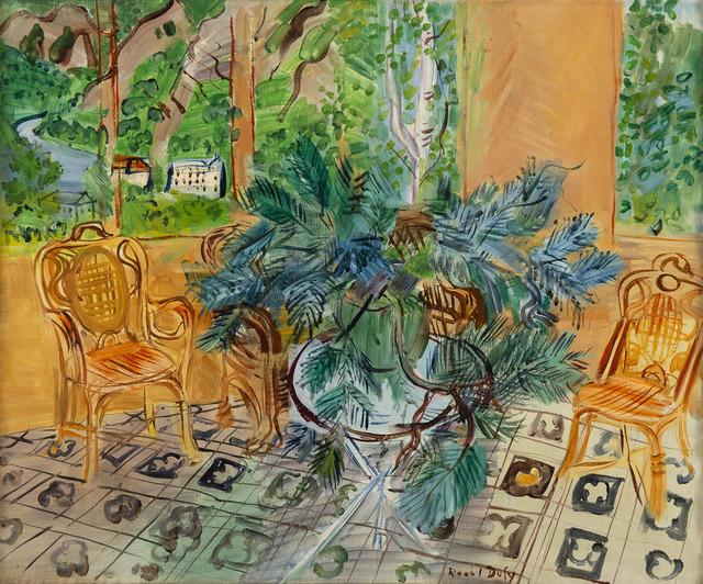 Raoul Dufy, 'La terrasse à Vernet-Les-Bains', 1943, HELENE BAILLY GALLERY