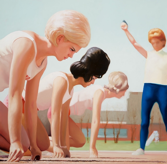 , 'Flamin' Mamie's Bouffant Belles,' 2020, Bruce Lurie Gallery