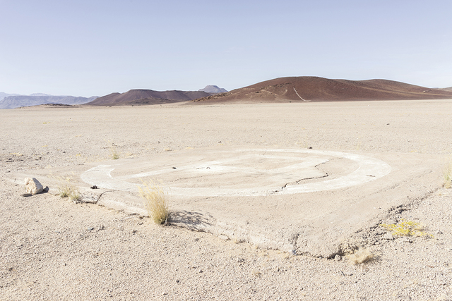 , 'Helipad in Copper Valley, Messum Complex, 6 July 2014,' 2018, SMAC