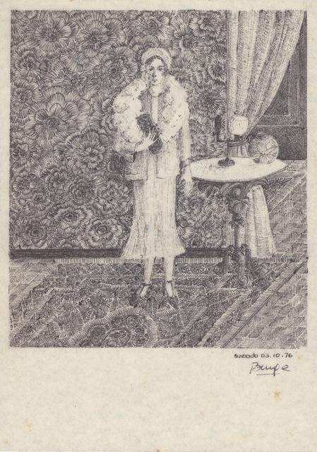 , 'Untitled (Female Portrait) 3.10.1976,' 1976, Barbara Thumm