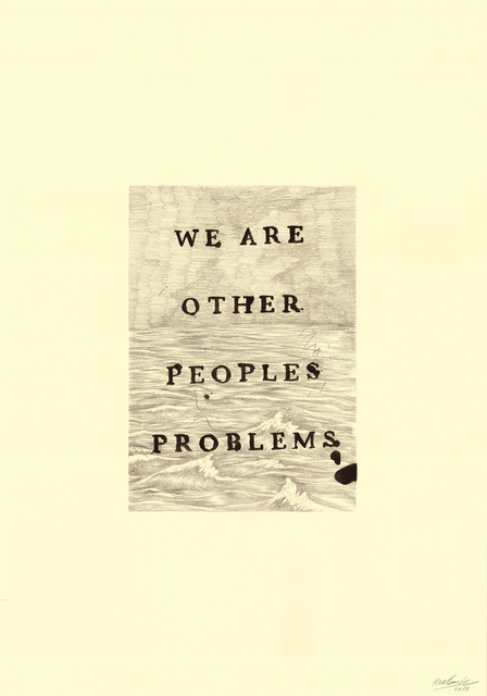 Keaton Henson, 'Other Peoples Problems', 2016, Rhodes