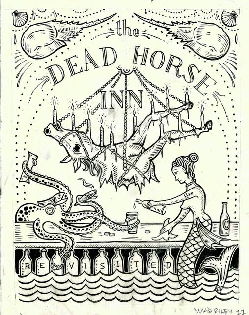 Duke Riley, 'The Dead Horse Inn Revisited', 2012, Andrew Edlin Gallery