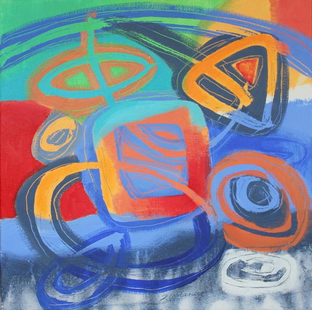 Jacqueline Unanue, 'Gaiamama XII', 2019, Painting, Acrylic on canvas, InLiquid