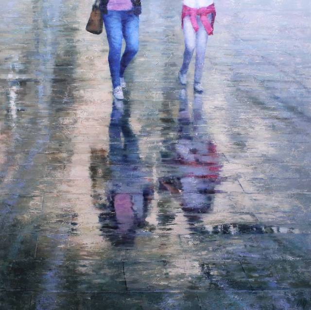 , 'Walking woman,' 2019, Anquins Galeria