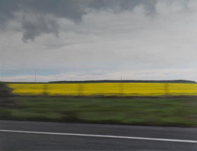, 'Colza Field II,' 2015, Galerie Hervé Lancelin