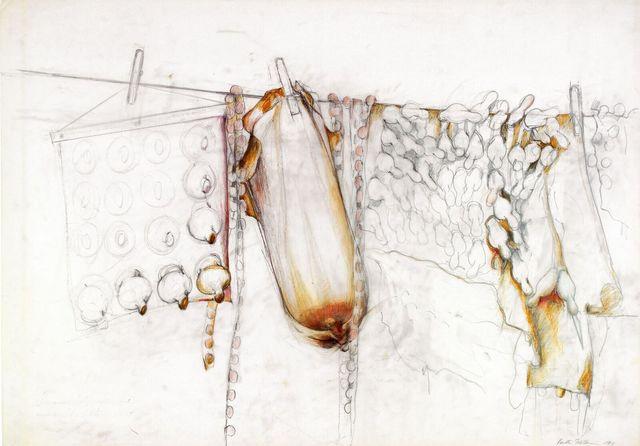 , 'Waschtag,' 1983, Galerie Steinek