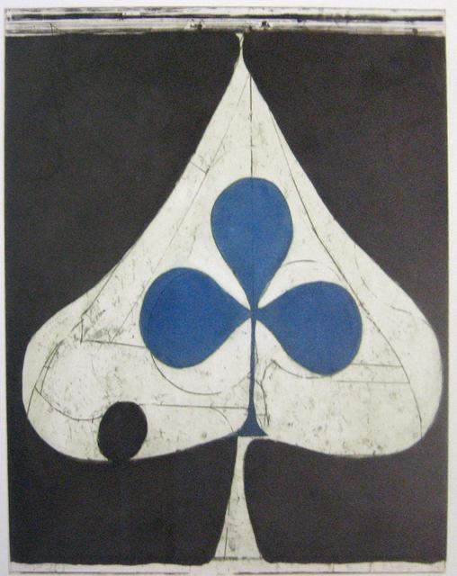 Richard Diebenkorn, 'Blue Clubs', 1981, Gallery Neptune & Brown