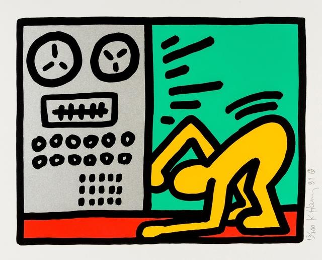 Keith Haring, 'Pop Shop III (see Littmann p.145)', 1987, Forum Auctions