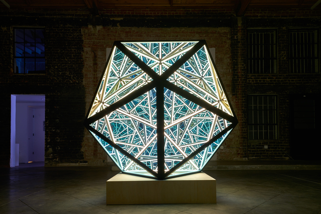 Anthony James, 'Portal Icosahedron', 2017, Melissa Morgan Fine Art