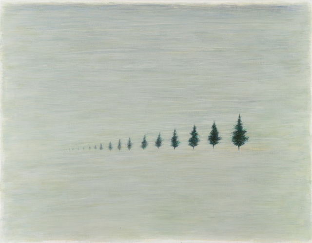 , 'The Measurements of Trees,' 2015, Project Fulfill Art Space