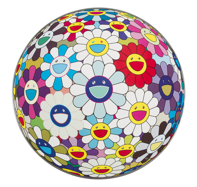 Takashi Murakami, 'Flower Ball (3-D) Sequoia Sempervirens', 2013, Julien's Auctions
