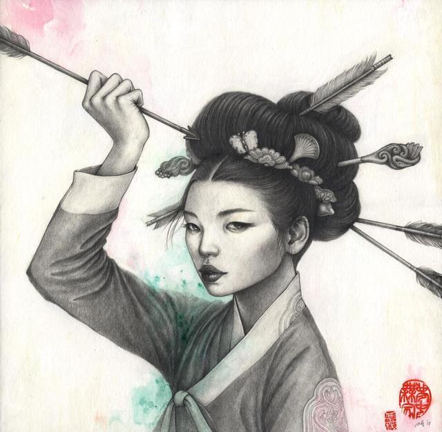 , 'Jacheongbi,' 2018, Spoke Art