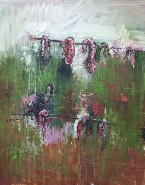 , 'Dry Sausages,' 2014, de Sarthe Gallery