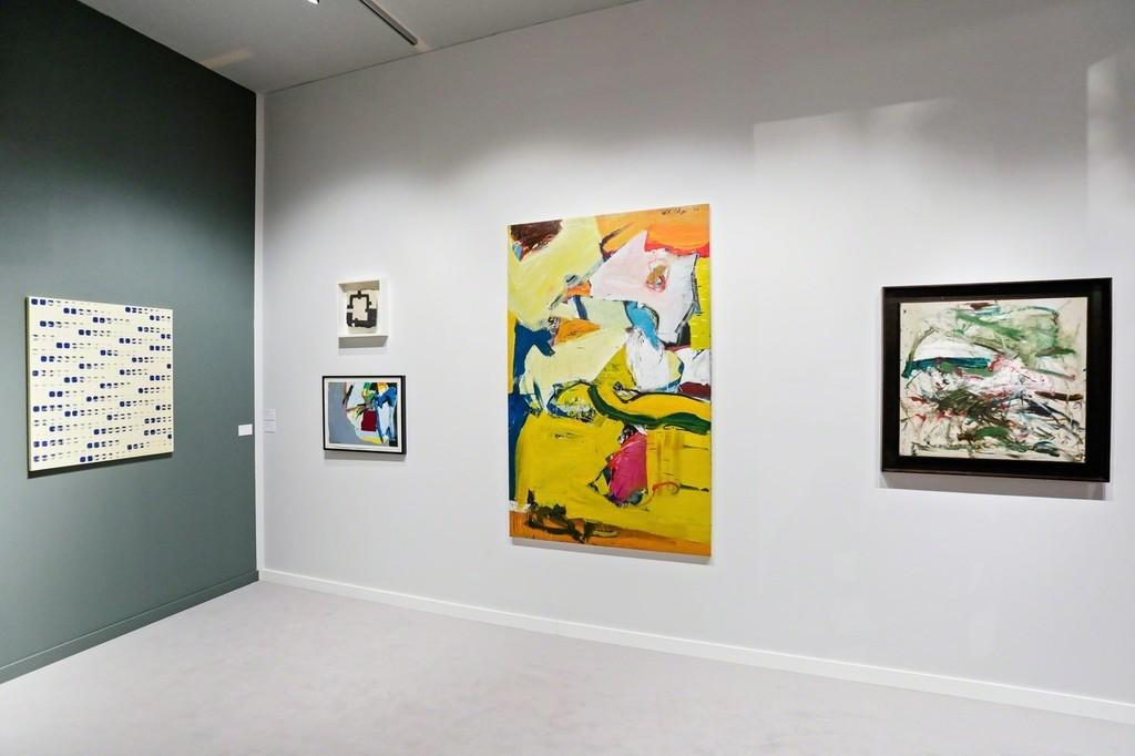 Tina Kim Gallery at TEFAF NY Spring 2018. Photo copyright Charles Roussel and Ocula