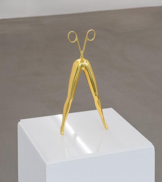 , 'High Rider (leaf gold),' 2018, Zetterberg Gallery