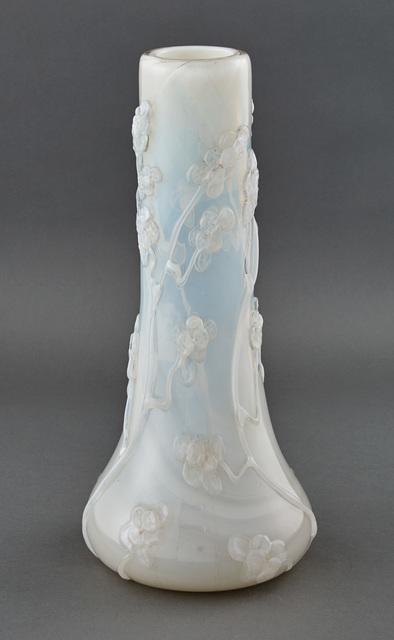 'Tiffany Opalescent Favrile Glass Vase', circa  1908, Design/Decorative Art, Doyle