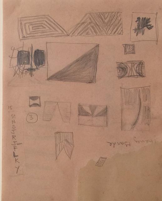 , 'Untitled, Series Study,' 1960, Dean Borghi Fine Art