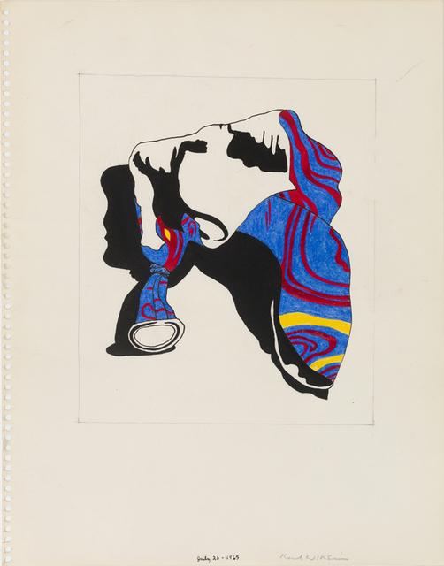 , 'Untitled (Study for Broken Balloon Series),' 1968, Derek Eller Gallery