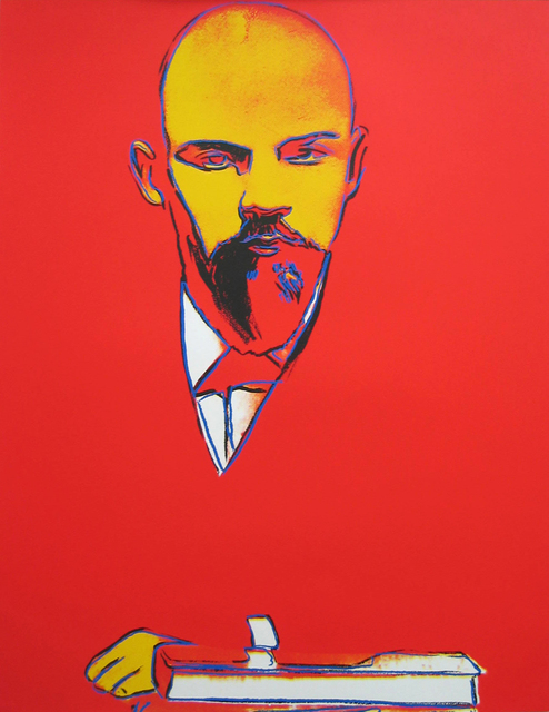, 'Red Lenin (F&S II.403),' 1987, Joseph K. Levene Fine Art, Ltd.