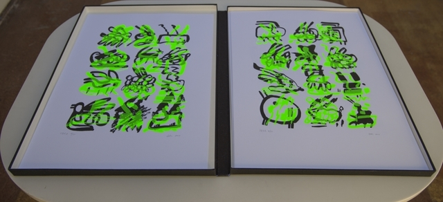 , 'Lagoglyph: The Bunny Variations,' 2007, Geary Contemporary