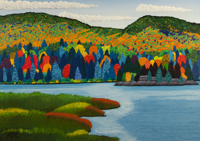 , 'Elk Lake ,' 2011, ACA Galleries