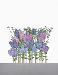 Jennifer Steinkamp, 'Hurdy Gurdy Man (Lilac),' 2005, Sotheby's: Contemporary Art Day Auction