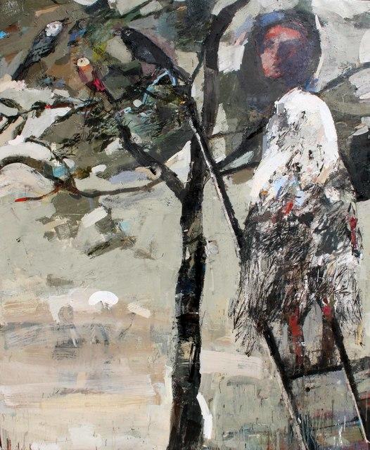 , 'L'échelle,' 2014, Galerie D'Este