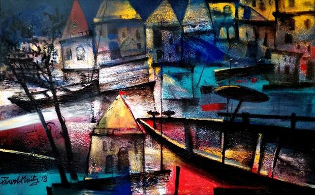 , 'The Light Through the Ghats,' , Art Pilgrim
