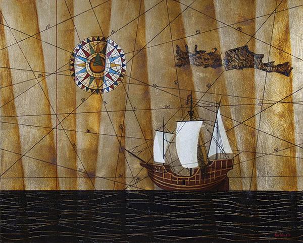 , 'Le rotte dei desideri / The routes of desires,' 2018, Galleria Edarcom Europa