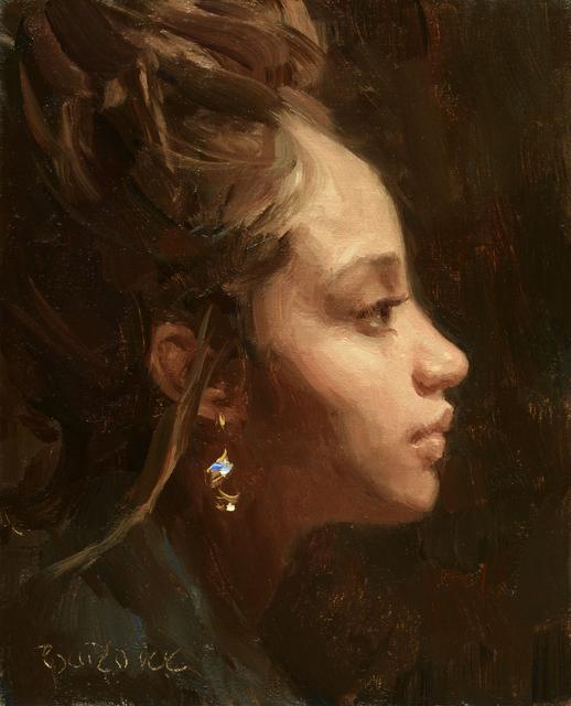 Scott Burdick, 'Profile of Ashley', 2019, Maxwell Alexander Gallery