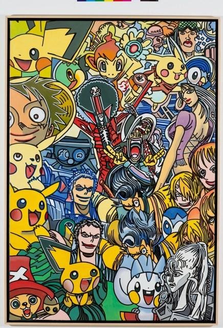 , 'Lola in manga world,' 2012, Galerie Ernst Hilger