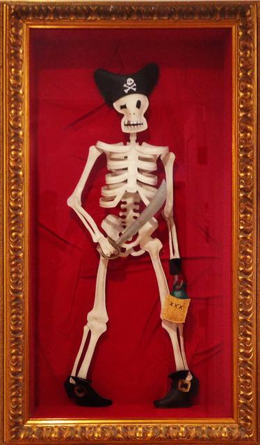 , 'Skeleton Pirate,' 2015, Gregorio Escalante Gallery
