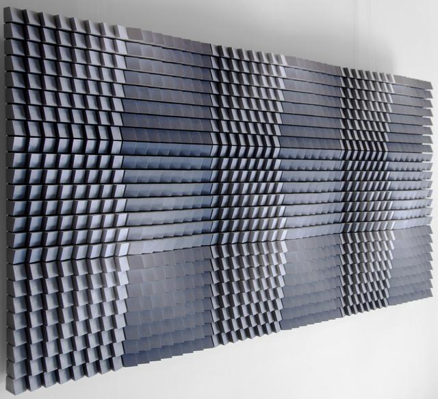 WILDS, 'Blue silence', 2019, Painting, Wood, Art Center Horus