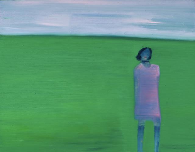 , 'Lawn,' 2014, Flowers