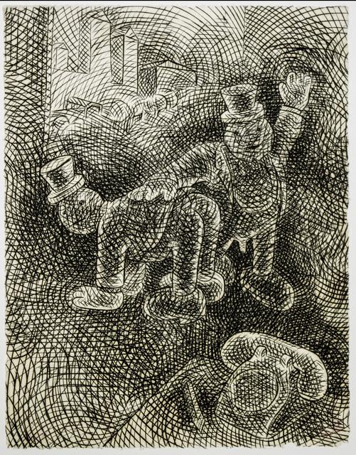 Tom Otterness, 'Spanking', 1994, Brooke Alexander, Inc.