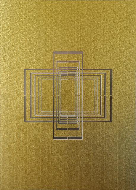 , 'Seal - Gold #2,' 2015, The Flat - Massimo Carasi