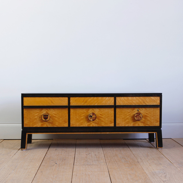 , 'LOW CHEST OF DRAWERS,' ca. 1930, Lawton Mull