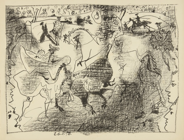 Pablo Picasso, 'La Pique (B. 683; M. 196)', 1950, Print, Lithograph, Sotheby's