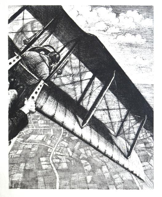 , 'Banking at 4000 feet,' 1917, Gerrish Fine Art