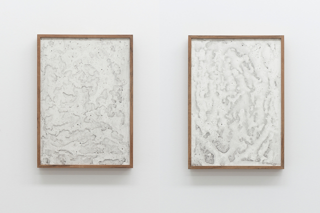 , 'after October 2017 (diptych, composed of #7 and #8),' 2018, Maus Contemporary
