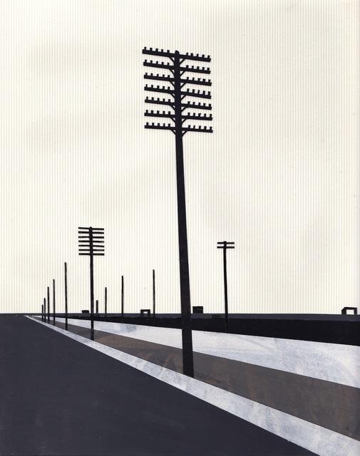 , 'Telephone Poles #2,' 2011, KOKI ARTS