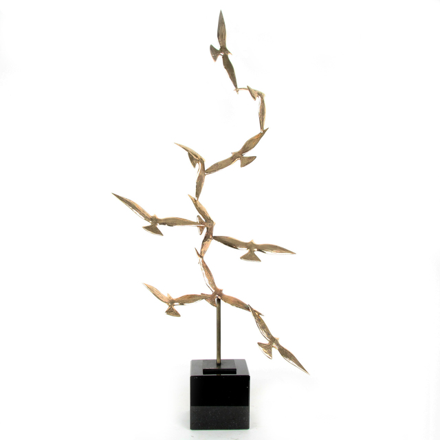 , 'Golden Birds Of The Soul IV,' 2019, Gormleys Fine Art