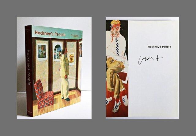 David Hockney, 'Hockney's People (Hand Signed)', 2003, Alpha 137 Gallery