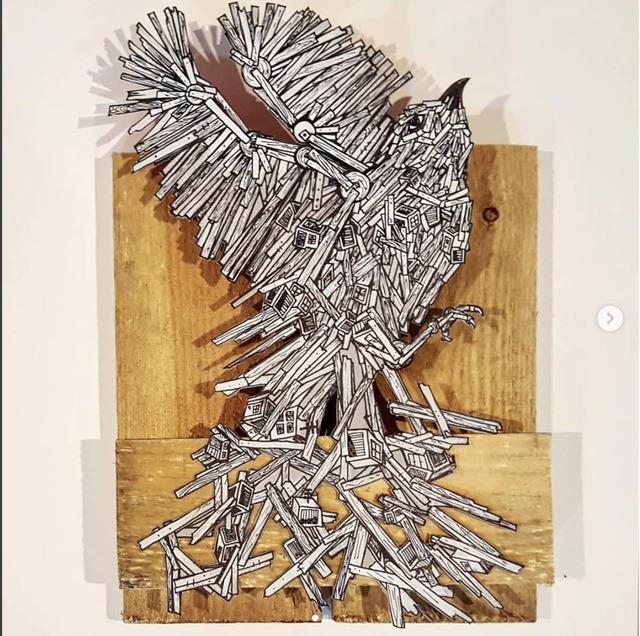 , 'fragments1,' 2016, Dan Gallery