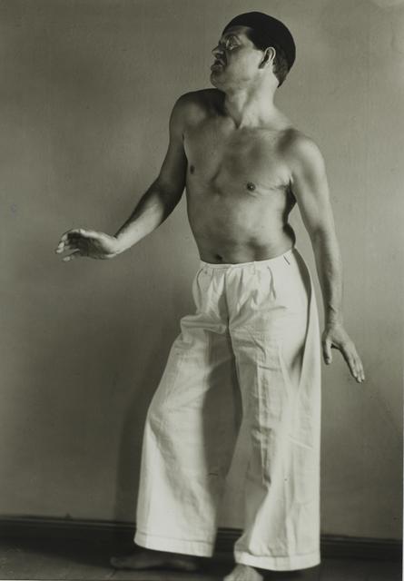, 'Raoul Hausmann as Dancer,' 1929, Galerie Julian Sander