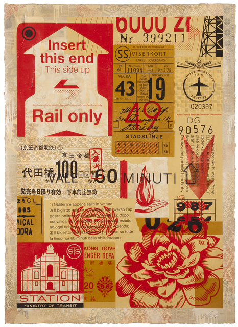 Shepard Fairey (OBEY), 'Station to Station 1 (Edition 6/10)', 2012, StolenSpace Gallery